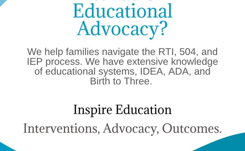 A little about Advocacy…