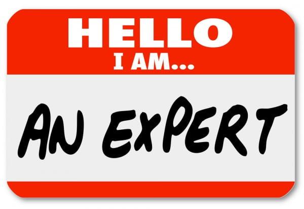 I am an expert…